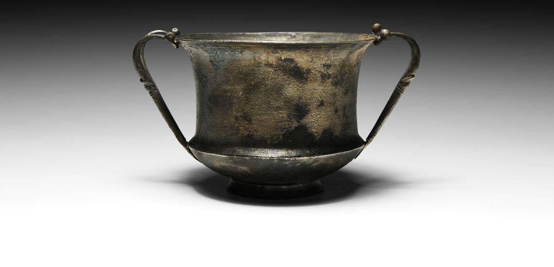 Hellenistic Silver Kantharos