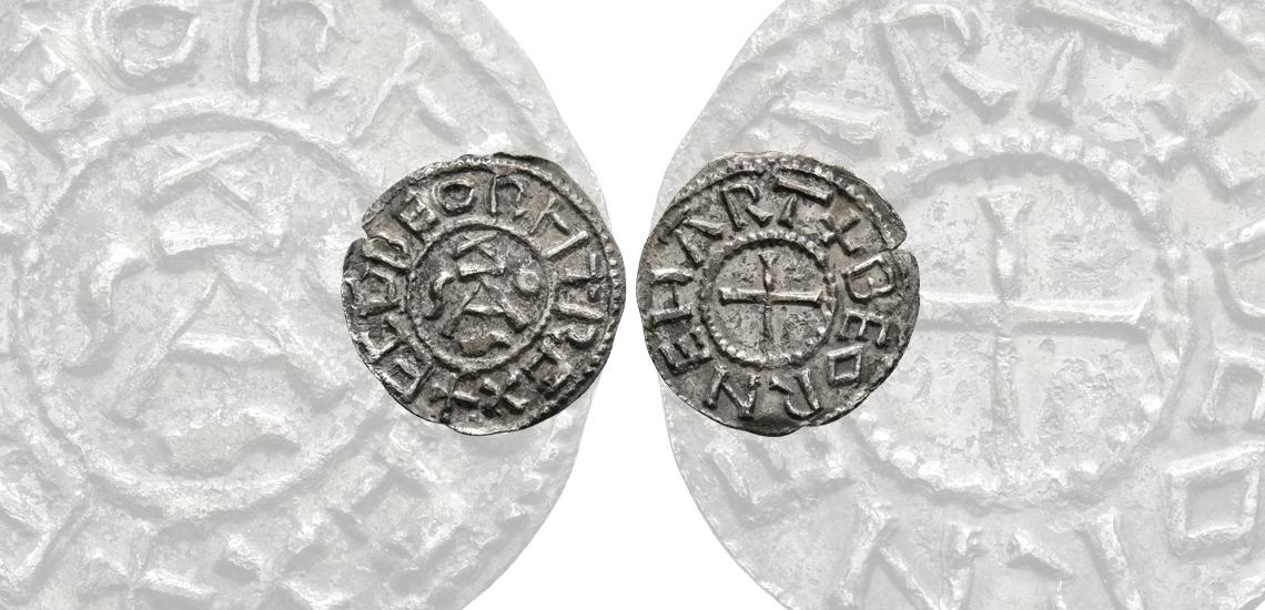 Ecgberht of Wessex - Winchester / Beornheard - New Dies Monogram Penny
