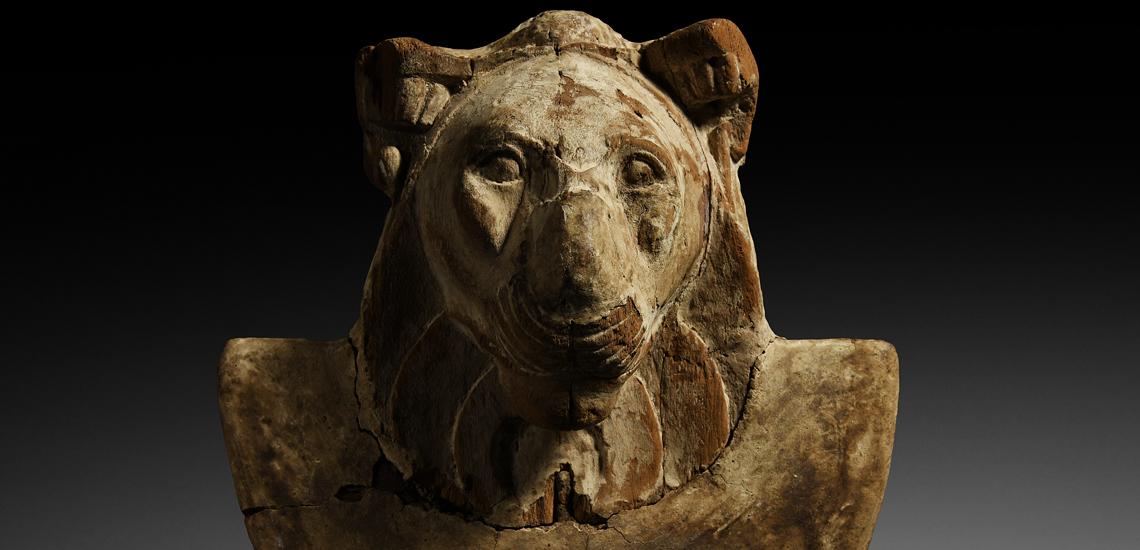 Egyptian Head of a Lion