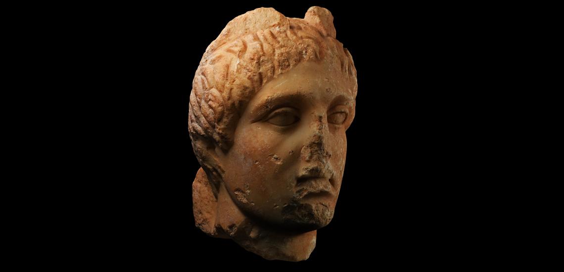 Marble Head of Mercury