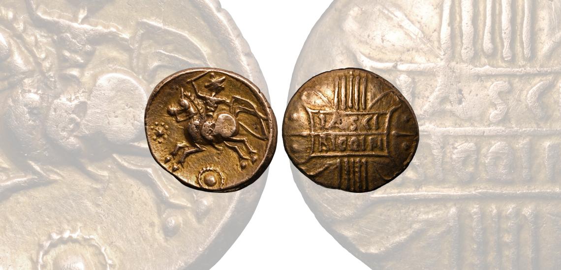 Tasciovanus Rigon Variant Gold Stater