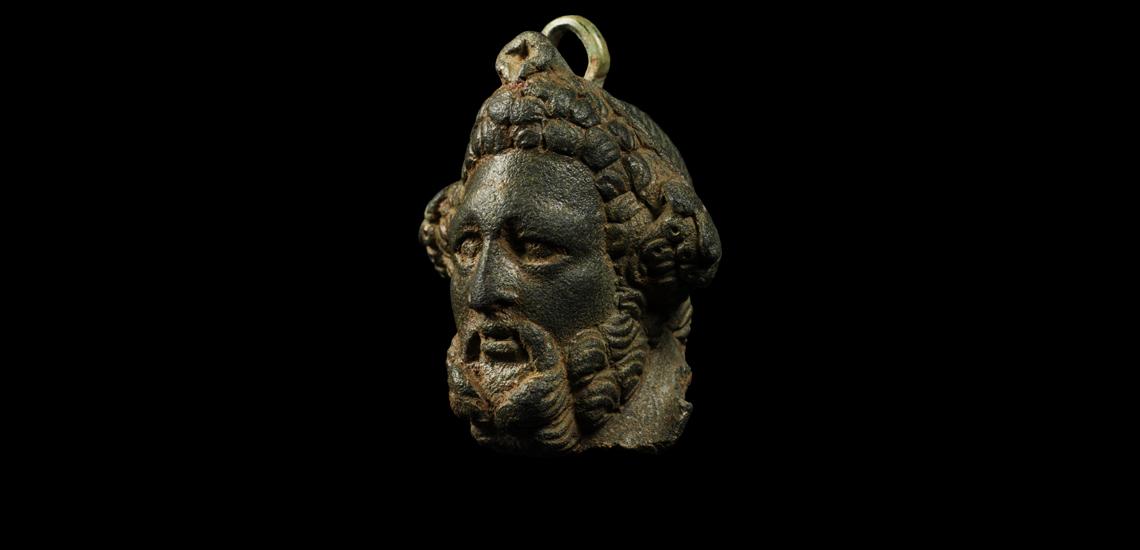 'The Alvescot' Roman Steelyard Weight with Head of Jupiter
