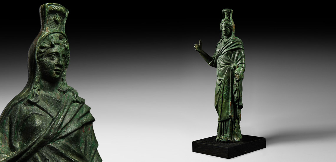 Large Roman Statuette of Goddess Ceres £10,000 - £14,000