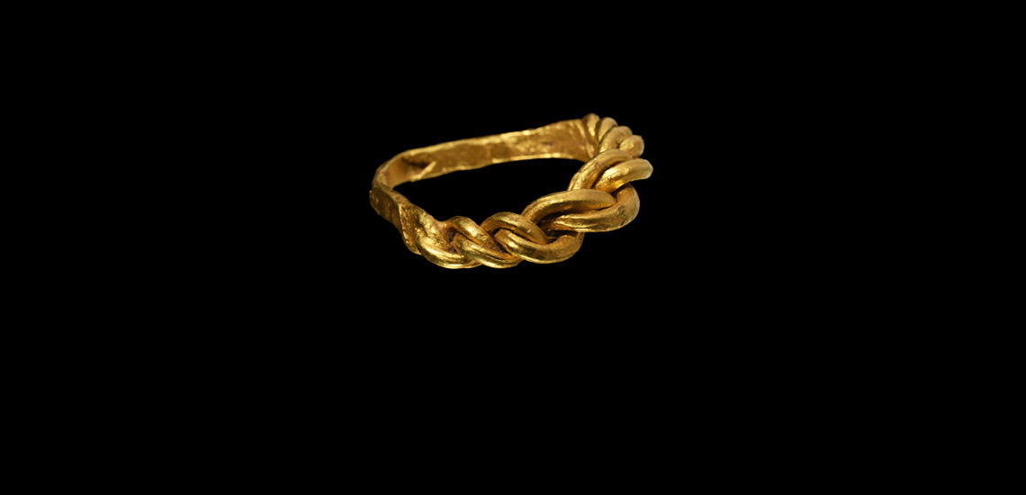 'The Sutton' Anglo-Scandinavian Gold Ring £1,500 - £2,000