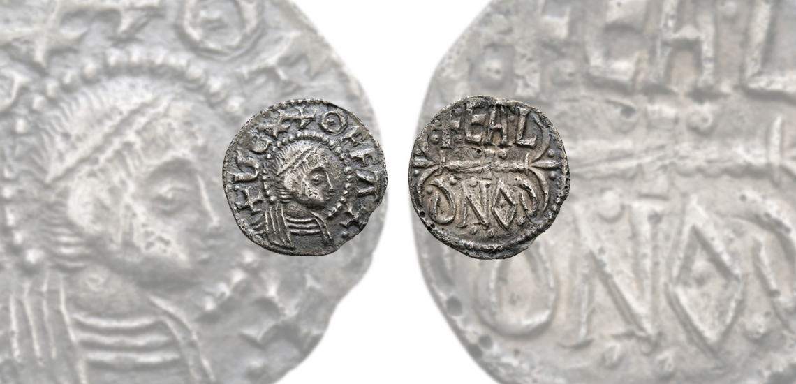 King Offa 'Lord Stewartby Collection' Portrait Anglo-Saxon Penny £4,000 - £6,000