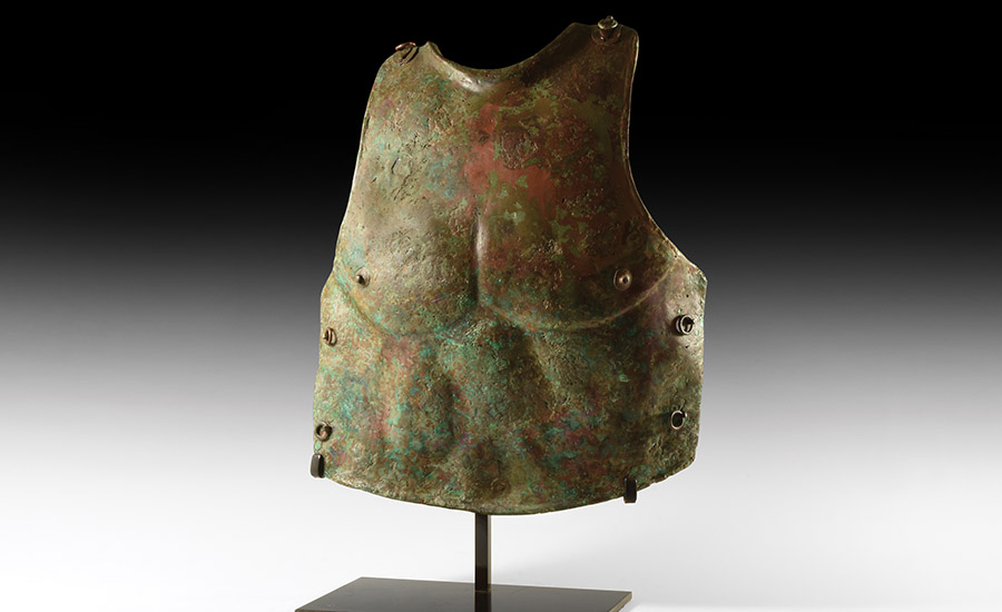 Greek Naturalistically Muscled Cuirass - Sold for £23,750