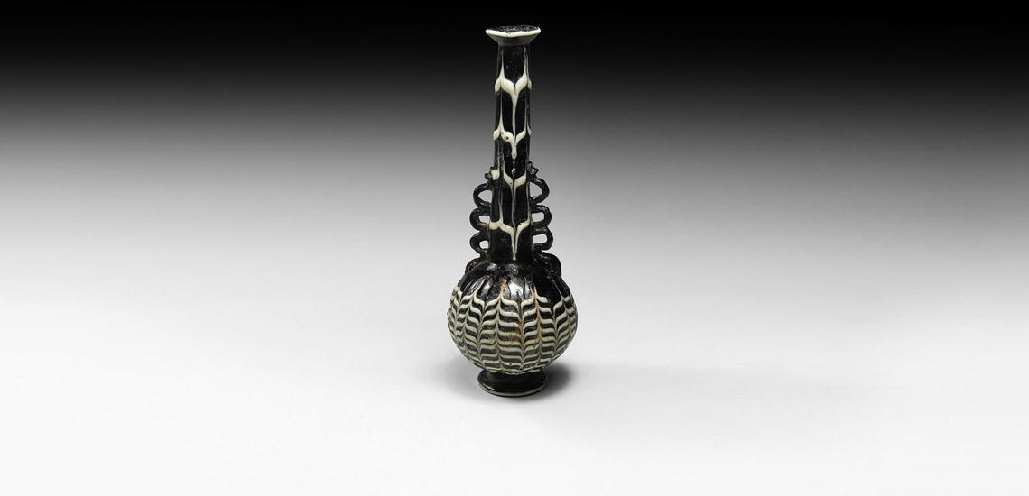 Mamluk Marvered Glass Bottle £8,000 - £10,000