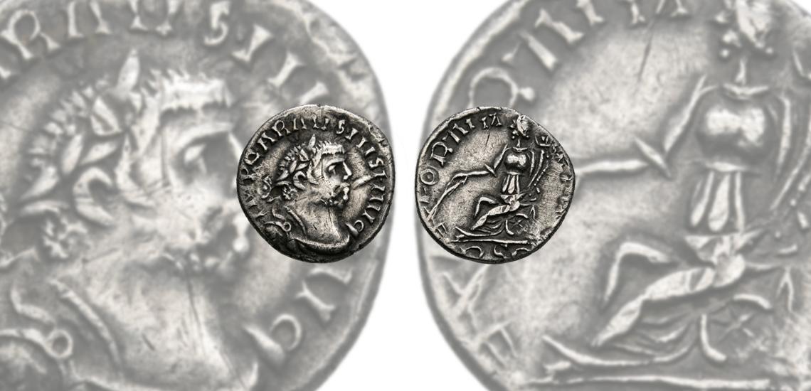 Unique London Mint Carausius Denarius £3,000 - £4,000