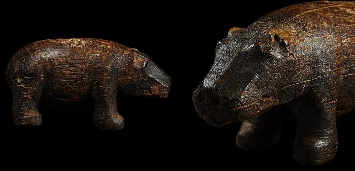 Wooden Hippopotamus Figurine £20,000 - £30,000