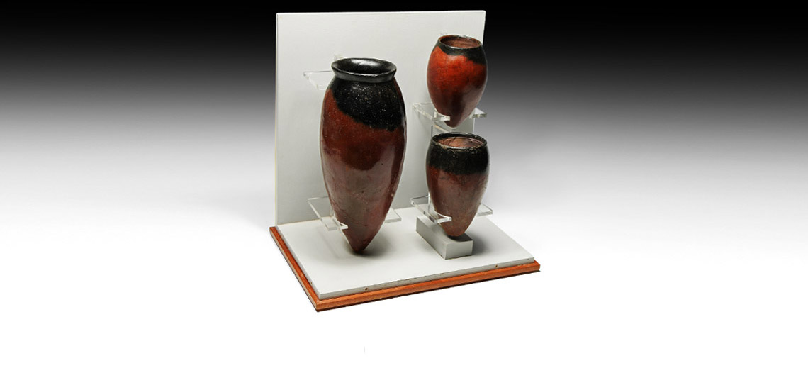 Egyptian Black-Topped Jar Museum Collection £7,000 - £9,000