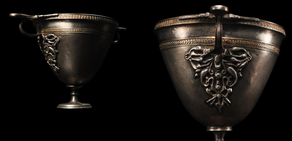 Large Roman Gilt Silver Skyphos £15,000 - £20,000