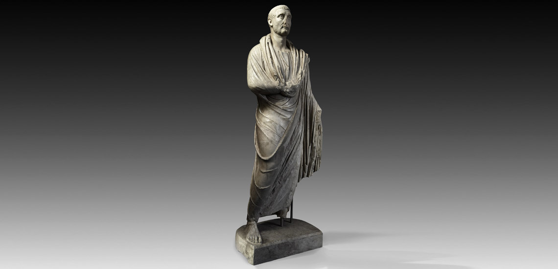 Life-Size Statue of an Important Roman Magistrate £300,000 - £400,000