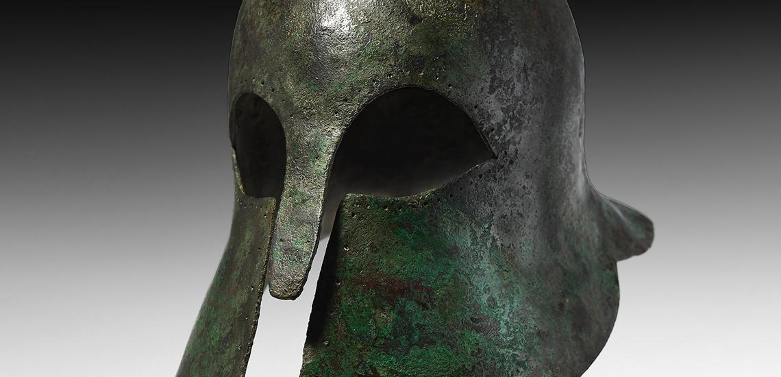Corinthian Helmet of a Hoplite Warrior £60,000-£80,000