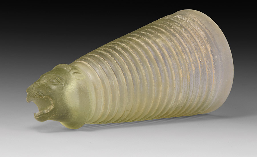 Western Asiatic Achaemenid Cut-Glass Rhyton