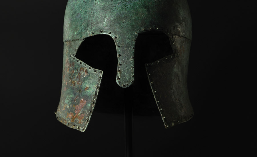 Helmet of a Greek Hoplite £30,000 - £40,000