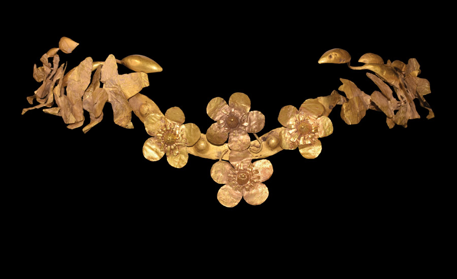 Greek Floral Diadem