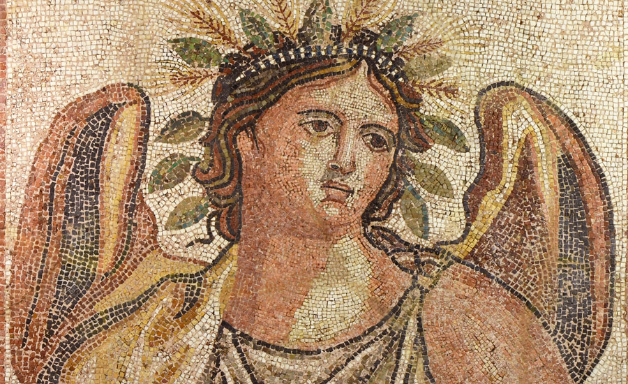 Roman Mosaic Panel with Summer £30,000 - 40,000