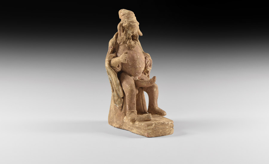 Lot 0091: Greek Erotic Statuette with Erect Phallus £8,000 - £10,000