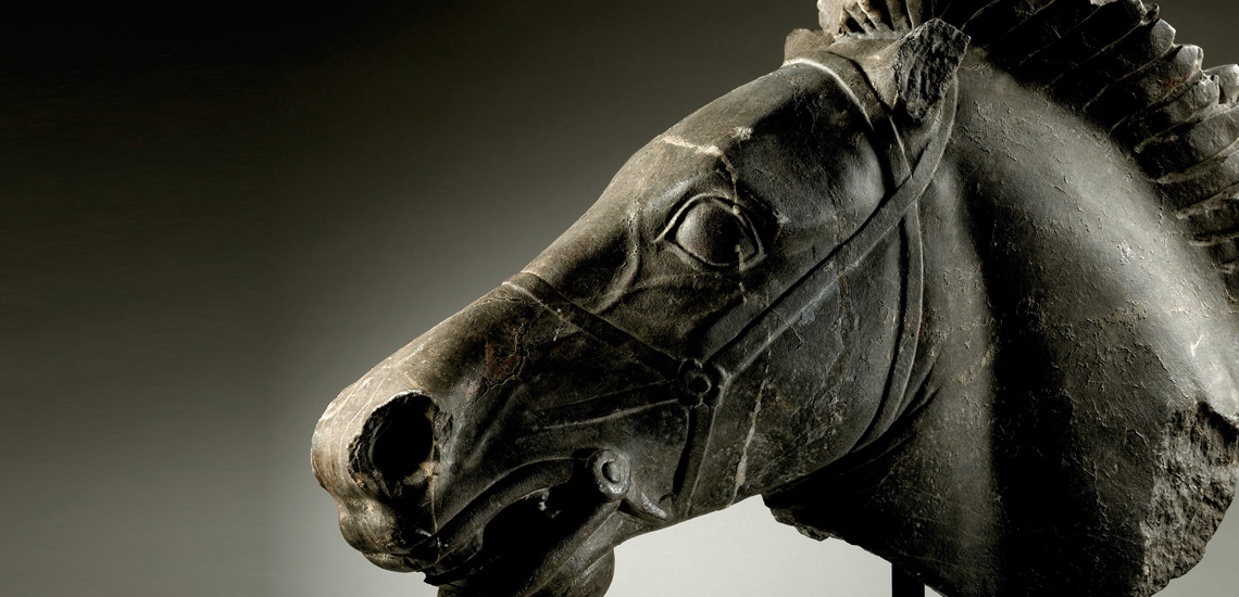 Roman Horse Head