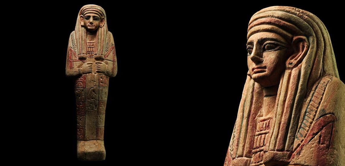 Very Large Egyptian Bichrome Ushabti £80,000-£100,000