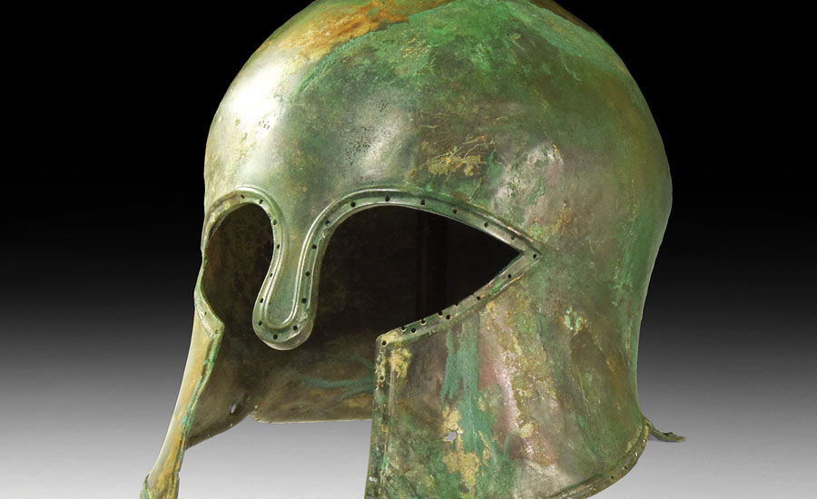 Greek Corinthian Helmet - Sold for: £55,000